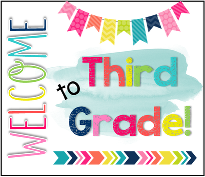 Welcome 3rd Graders